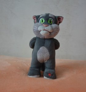 """Мягкая игрушка """"Говорящий кот Том"""" - повторюшка"""