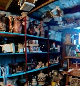 Керамика, керамические изделия, фигурки, вазы