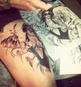 Научим бить татуировки