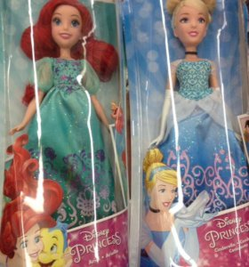 Новые куклы Hasbro Disney Princess.