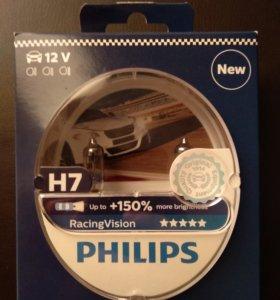 Галогеновые лампы Philips H7 RacingVision