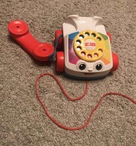 Каталка-телефон Fisher Price