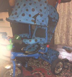 Велосипед трехколёсный детский трансформер