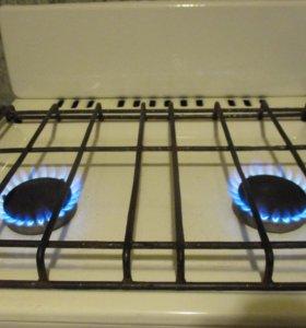 Плита газовая, 2-е конфорки, газ сжиж. возм/достав