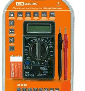 Мультиметр цифровой М-838 ТДМ Electric
