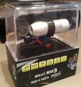 Экшн-камера Bullet HD 3 Mini