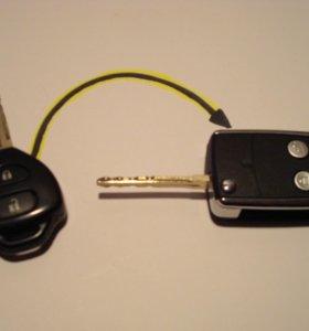 Ключ выкидной тойота