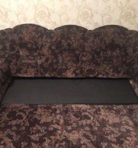 Диван+2 кресла -кровать б/у