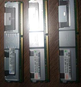 Cерверная память 2gb 2rx4 pc2-5300F-555-11