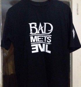 Мужская футболка премиум «Bad Meets Evil»