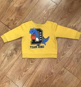 Толстовка, свитер для мальчика Garanimals