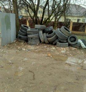 Утилизация шин и любые отходы 3-4 класса опасности