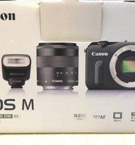 Фотоаппарат беззеркальный canon eos m
