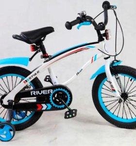 Новый детский велосипед Q-bike