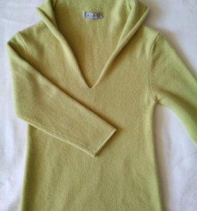 Новый пуловер кашемир для девочки 132 -152