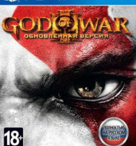 Диск PS 4 God Of War III