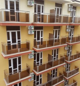 Ограждение балконов из нержавеющей стали