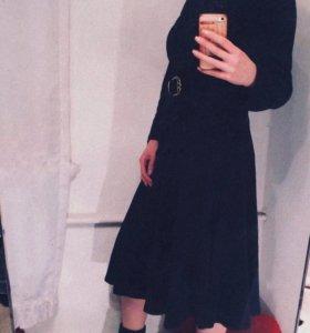Платье чёрное винтаж жен 44-46-48