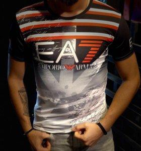 Мужская футболка еа7