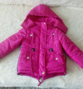 Продам весеннии детские курточки.