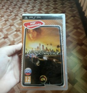 PSP диск need for speed UNDERCOVER