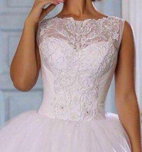 Шикарное новое свадебное платье коллекции 2018года