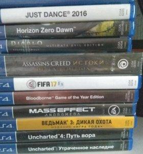 Игры на PS4(пс4)