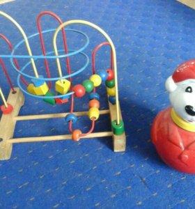 Развивающая игрушка + Неваляшка