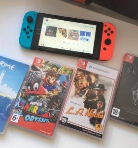 Nintendo Switch+игры