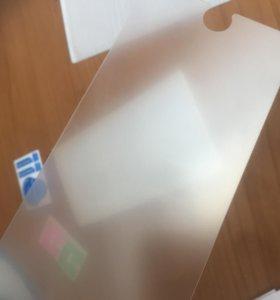 Матовое защитное стекло на Iphone 6+