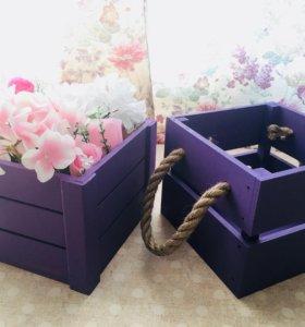 Подарочные ящики