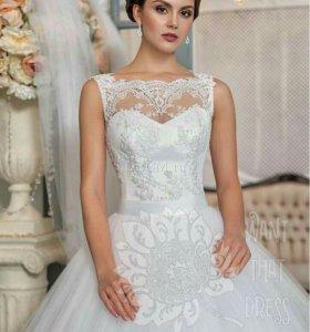 Продам свадебное платье и туфли