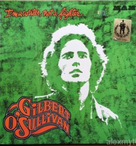 Gilbert O'Sullivan I'm A Writer, Not A Fighter