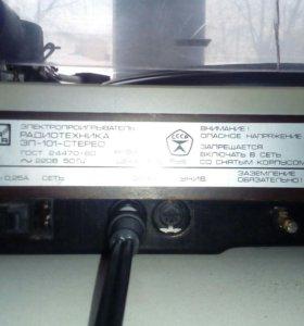 Электропроигрователь радиотехника