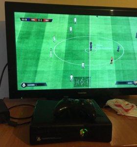 Xbox 360 250gb прошитый