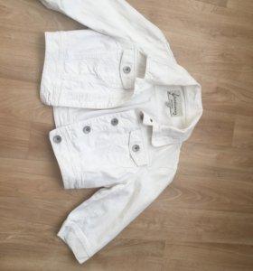 Продам жакет джинсовый