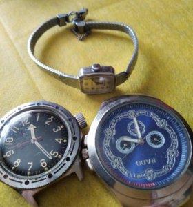 Часы на запчасти 8-10 шт механич