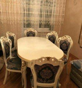 Стол +стулья