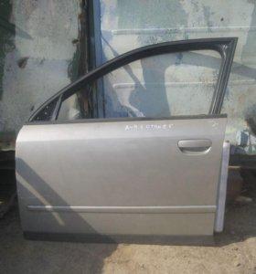 Дверь передняя левая Ауди А4 с 2001 по 2005