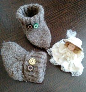 Вязание на заказ,носочки, пинетки, всё для малышей
