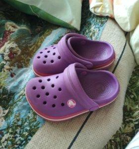 Кроксы детские
