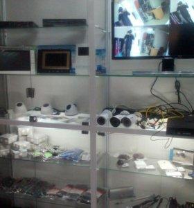 Комплект видеонаблюдения AHD на 4 камеры