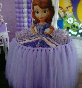 Принцессы на день рождения