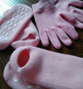 Гелевые Носочки и перчатки