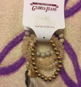 Набор браслетов gloria jeans