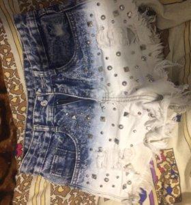 Шорты , джинсовые