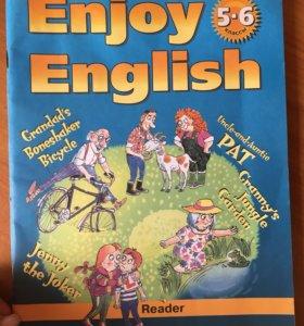 Enjoy English 5-6 класс книга для чтения