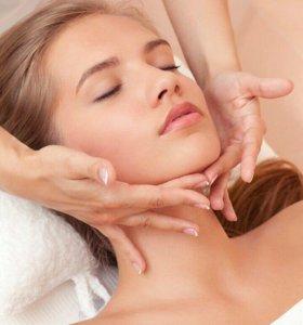 Классический массаж лица и зоны декольте
