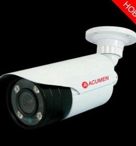 Устанавливаю камеры видеонаблюдения