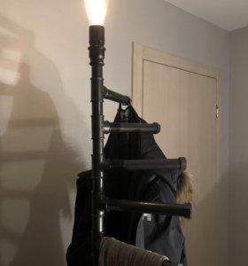 Светильник - вешалка в стиле Лофт